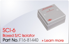 SCI-6 Boxes S/C Isolator - Nittan