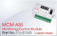 MCM-AS5 Monitoring/Control Module - Nittan