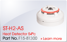 ST-H2-AS Heat Detector 54c - Nittan