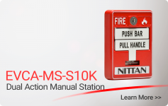 EVCA-MS-S10K-2 Dual Action Manual Station - Nittan
