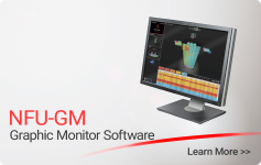 NFU-GM Graphci Monitor Software - Nittan