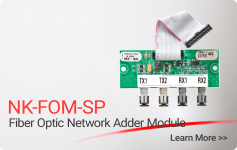 NK-FOM-SP Fiber Optic Network adder Module - Nittan