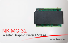 NK-MG-32 Master Graphic Driver Module - Nittan