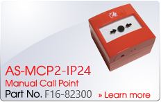 AS-MCP2-IP24 Manual Call Point - Nittan