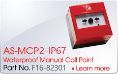 AS-MCP2-IP67 Waterproof Manual Call Point - Nittan