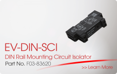 EV-DIN-SCI DIN Rail Mounting Circuit Isolator