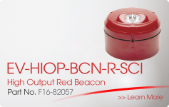 EV-HIOP-BCN-R-SCI High Output Red Beacon Nittan