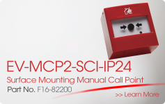EV-MCP2-SCI-IP24 Surface Mounting Manual Call Point Nittan