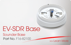 EV-SDR Sounder Base Nittan