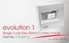 evolution 1 Single Loop Fire Alarm Control Panel