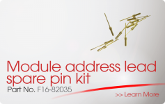 Module address lead spare pin kit Nittan