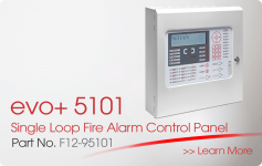 evo+5101 Single Loop Fire Alarm Control Panel Nittan