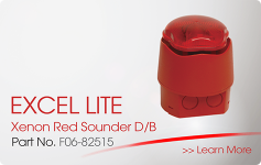 EXCEL LITE Xenon Red Sounder DB