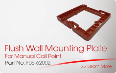 Flush Wall Mounting Plate