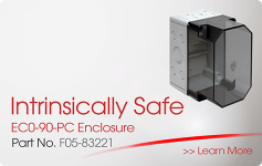 Intrinsically Safe EC0-90-PC Enclosure