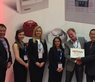 FIREX Update Day 2: Acorn Fire & Security and Detection Supplies awarded Nittan Elite Distributor Status