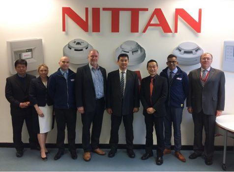 Nittan Europe Welcomes an Important visitor from HQ