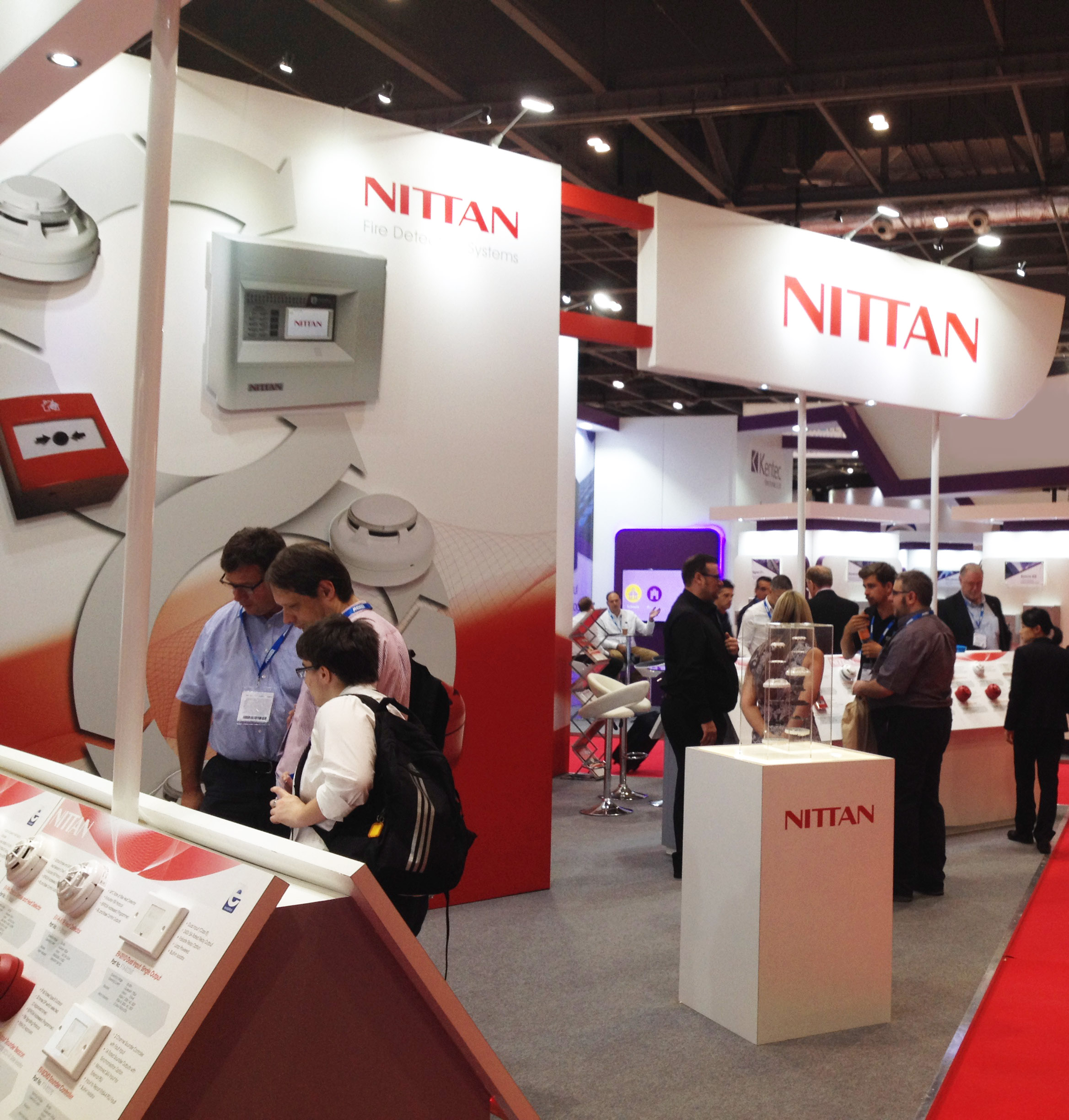 Nittan at FIREX 2018