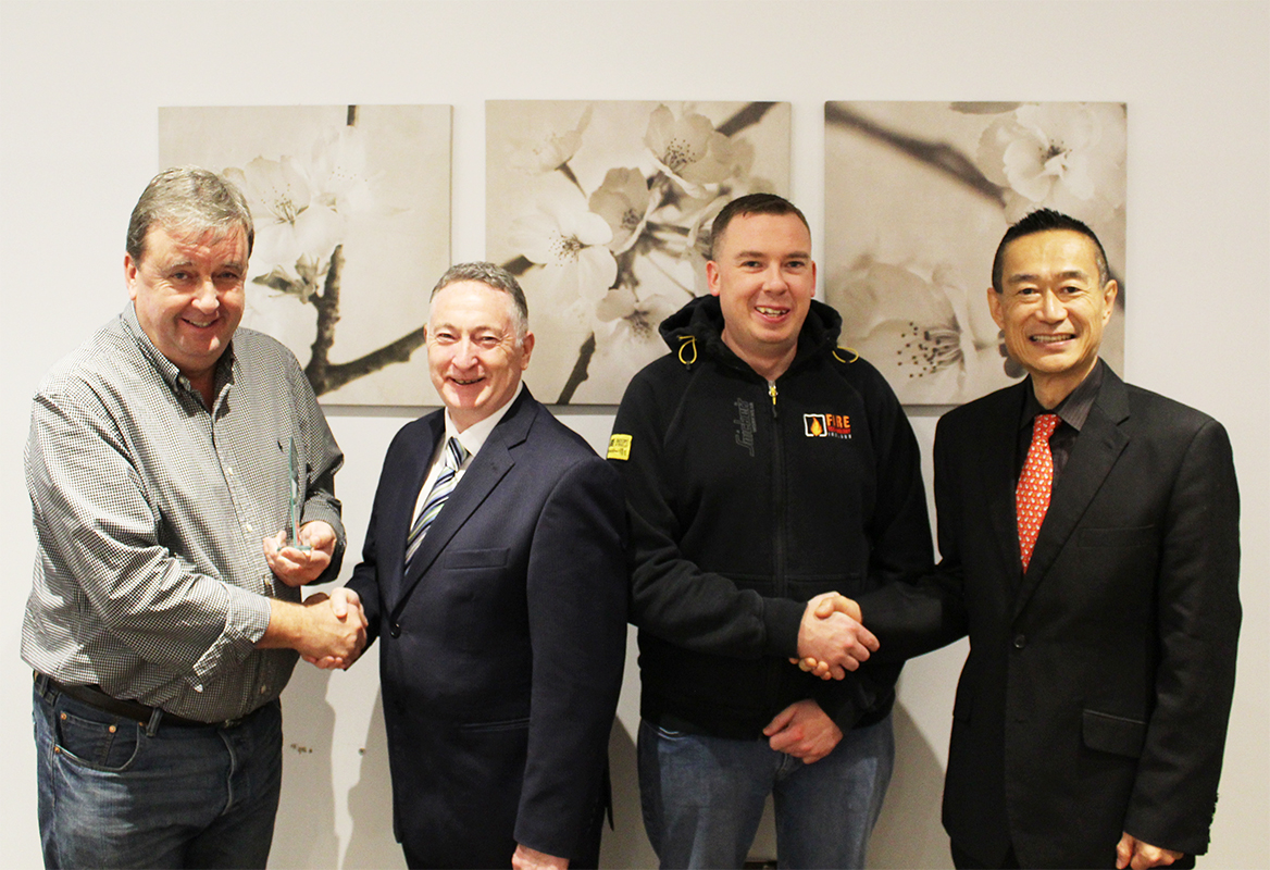FTI Dublin Awarded Nittan Elite Partner of the year