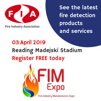FIM Expo see the latest fire detection product and services