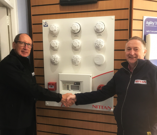 Visit Taybell Fire and Security to get hands on with Nittan products