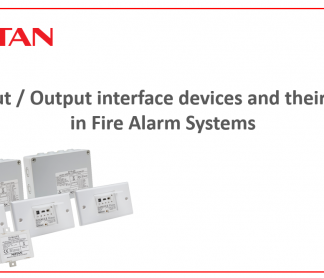 CPD on Input / Output interface devices and their use in Fire Alarm Systems