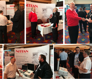 Nittan exhibit at FIM Expo Belfast October 2021
